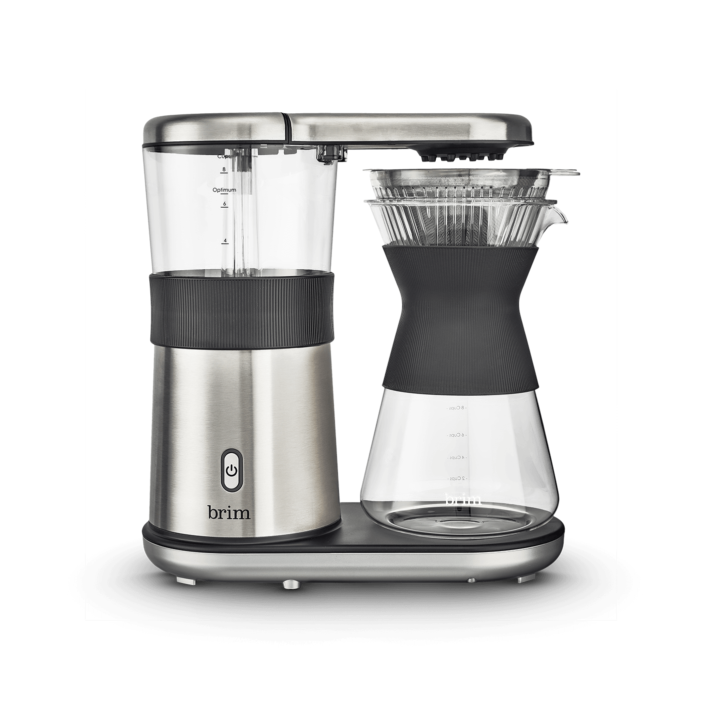 8 Cup Pour Over Coffee Maker Brim